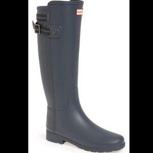 Hunter Original Refined Back Strap Stripe Boots
